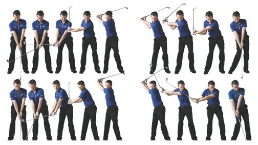 Backswing Start – Downswing Start