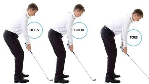 Image result for Better balance for a better golf swing