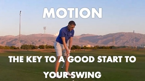 Motion in Your Pre-Shot Routine