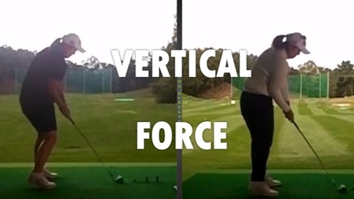 Increase Your Clubhead Speed with Vertical Force