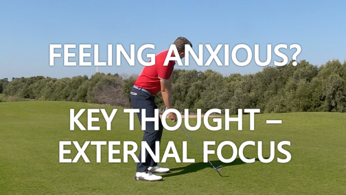 In a Slump? Key Thought – External Focus