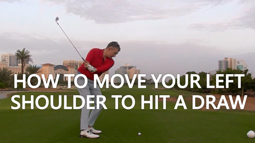 Left Shoulder Movement to Hit a Draw