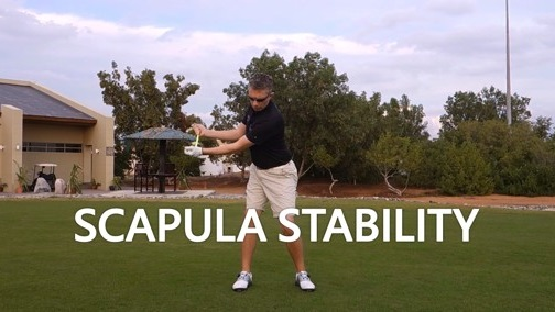 Scapula Stability in Golf Swing