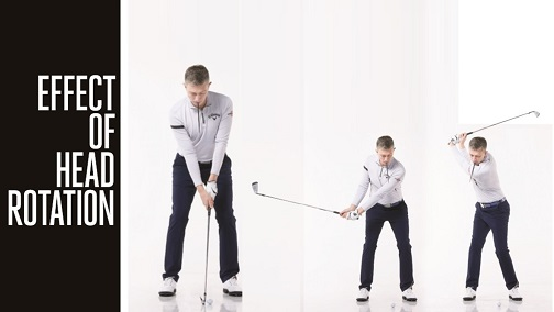 Head Rotation in Golf