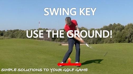 Swing Key – Use the Ground